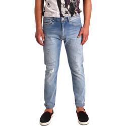 textil Herre Smalle jeans Tommy Hilfiger DM0DM02107 Blå