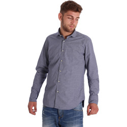 textil Herre Skjorter m. lange ærmer Gmf 971192/03 Blå