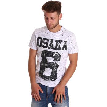 textil Herre T-shirts m. korte ærmer Superdry M10001SODS hvid