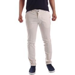textil Herre Chinos / Gulerodsbukser Sei3sei PZV21 7148 hvid