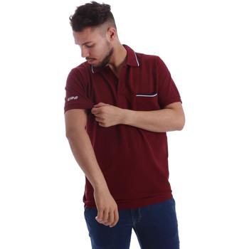 textil Herre Polo-t-shirts m. korte ærmer Key Up 2827Q 0001 Rød