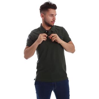 textil Herre Polo-t-shirts m. korte ærmer Key Up 255QG 0001 Grøn