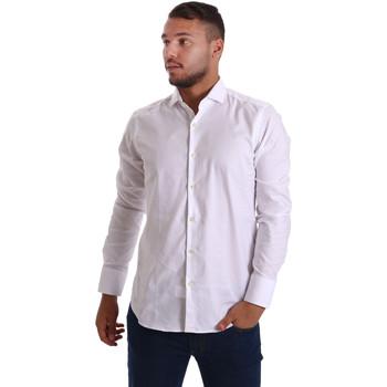 textil Herre Skjorter m. lange ærmer Gmf 971103/01 hvid
