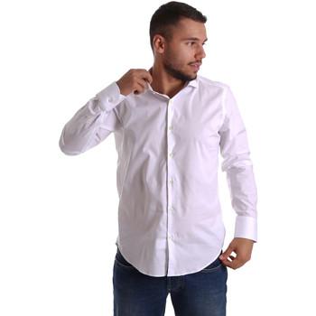 textil Herre Skjorter m. lange ærmer Gmf 971250/01 hvid
