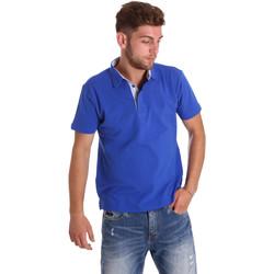 textil Herre Polo-t-shirts m. korte ærmer Bradano 000116 Blå