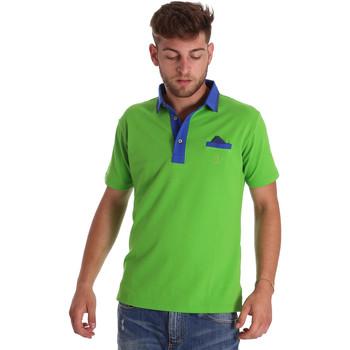 textil Herre Polo-t-shirts m. korte ærmer Bradano 000114 Grøn