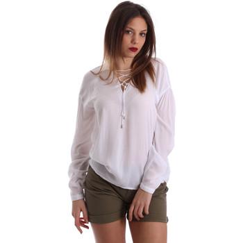 textil Dame Toppe / Bluser Gaudi 73BD47209 hvid
