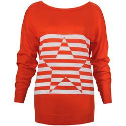 textil Dame Pullovere Denny Rose 73DR15013 Orange