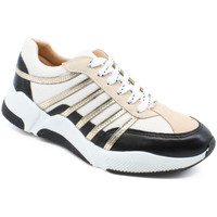 Sko Dame Lave sneakers Billi Bi 4860-723 03-0945 black/white/gold