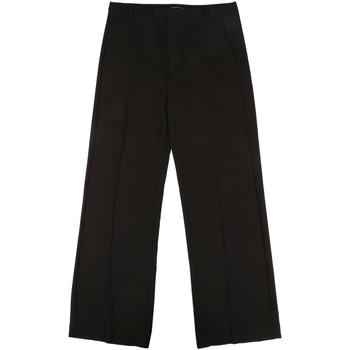 textil Dame Habit bukser Fornarina BIF1I68C96600 Sort