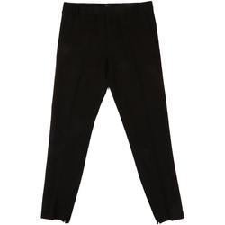 textil Dame Habit bukser Fornarina BIF1I70L24700 Sort