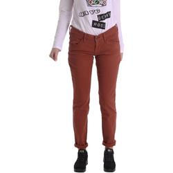 textil Dame Lærredsbukser Fornarina BIR1G41G28050 Brun