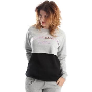 textil Dame Sweatshirts Shoeshine A6GD2642 Grå