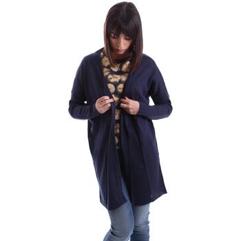 textil Dame Veste / Cardigans Gazel AB.MA.CA.0055 Blå