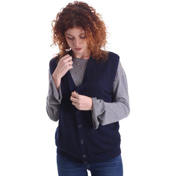 textil Dame Veste / Cardigans Wool&co WO0004 Blå
