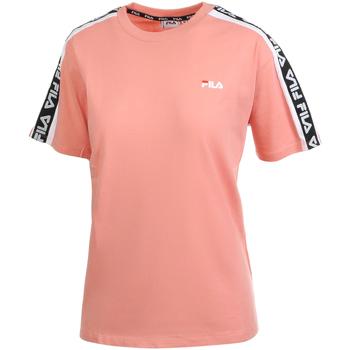 textil Dame T-shirts m. korte ærmer Fila 687686 Lyserød