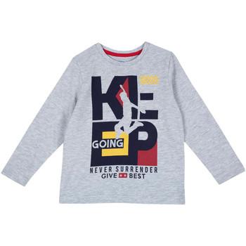 textil Børn Langærmede T-shirts Chicco 09006867000000 Grå