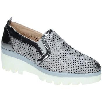 Sko Dame Mokkasiner Grace Shoes J306 Grå
