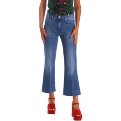 textil Dame Bootcut jeans Wrangler W230BG39W Blå