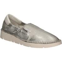 Sko Dame Slip-on Keys 5075 Sølv