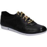 Sko Dame Lave sneakers Clarks 123799 Sort