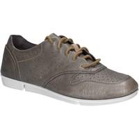 Sko Dame Lave sneakers Clarks 123804 Sølv