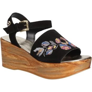 Sko Dame Sandaler Byblos Blu 672210 Sort