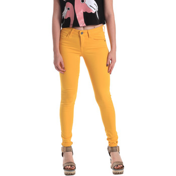 textil Dame Jeans - skinny Fornarina BE171L37D86846 Gul