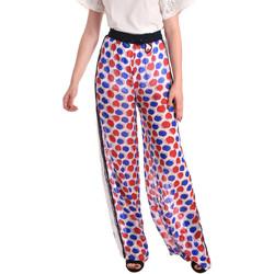 textil Dame Løstsiddende bukser / Haremsbukser Fornarina BE171L91CA0676 hvid