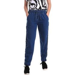 textil Dame Lige jeans Fornarina BE171L93D883SK Blå