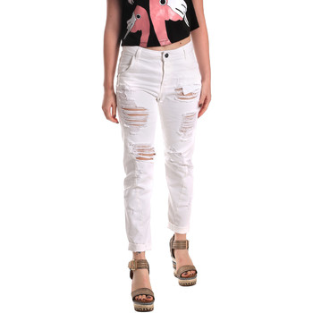 textil Dame Jeans - boyfriend Fornarina BE171L94D877KM hvid
