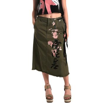 textil Dame Nederdele Fornarina BE172C10G29231 Grøn