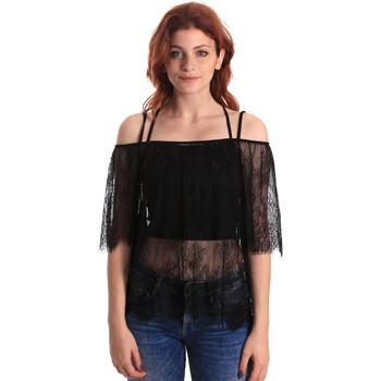 textil Dame Toppe / Bluser Fornarina BE174575H26700 Sort