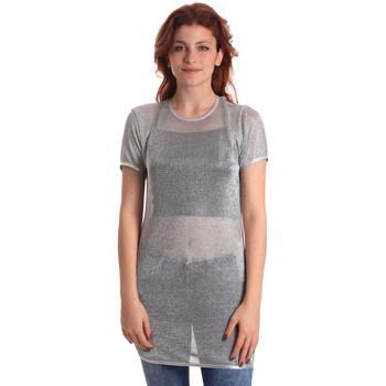 textil Dame Toppe / Bluser Fornarina BE175J69H27090 Grå