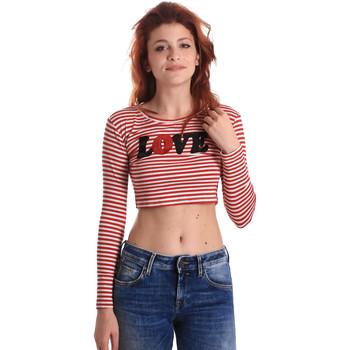 textil Dame Langærmede T-shirts Fornarina BE175L14JG0976 Rød