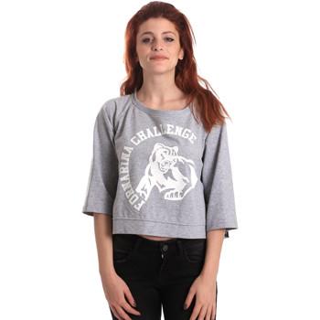 textil Dame Sweatshirts Fornarina BE176841F42706 Grå