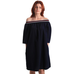 textil Dame Korte kjoler Fornarina BE178D60D883NT Blå