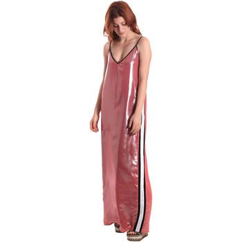 textil Dame Lange kjoler Fornarina BE178D61CA05E9 Lyserød