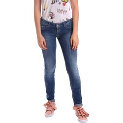 textil Dame Jeans - skinny Fornarina BER1H27D709R59 Blå