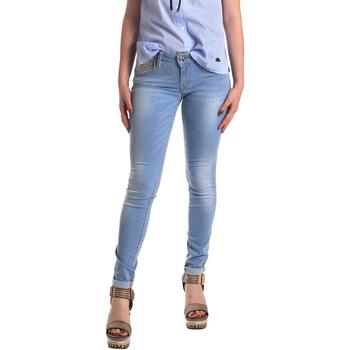 textil Dame Jeans - skinny Fornarina BER1H37D709R60 Blå