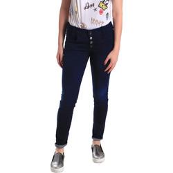 textil Dame Jeans - skinny Fornarina BER1I02D784R50 Blå