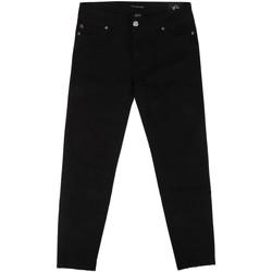 textil Dame Smalle jeans Fornarina BER1L01D840VA Sort