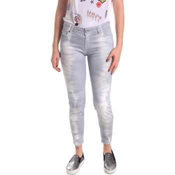 textil Dame Jeans - boyfriend Fornarina BER1L01D851GD Grå