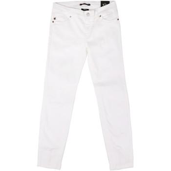 textil Dame Smalle jeans Fornarina BER1L01D851VJ hvid