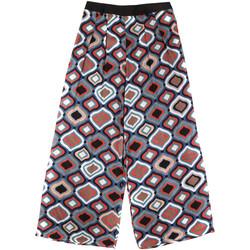 textil Dame Løstsiddende bukser / Haremsbukser Fornarina BER1L08C98294 Sort