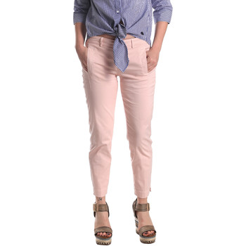textil Dame Chinos / Gulerodsbukser Fornarina SE171L74G291C5 Lyserød