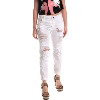 textil Dame Jeans - boyfriend Fornarina SE171L94D877KM hvid