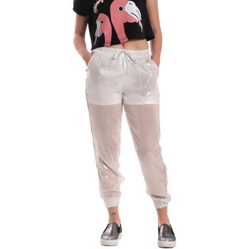 textil Dame Træningsbukser Fornarina SE171L95CA0509 hvid