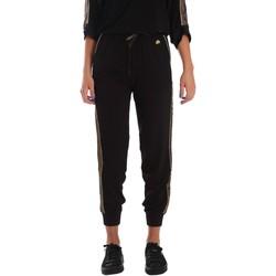 textil Dame Træningsbukser Fornarina SE171L96C99700 Sort