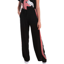 textil Dame Træningsbukser Fornarina SE171L97C99700 Sort